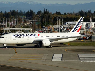 Air France's First Boeing 787-9 in the Making