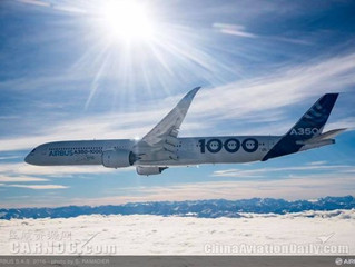 Airbus' A350-1000 Jetliner Completes Its Historic First Flight
