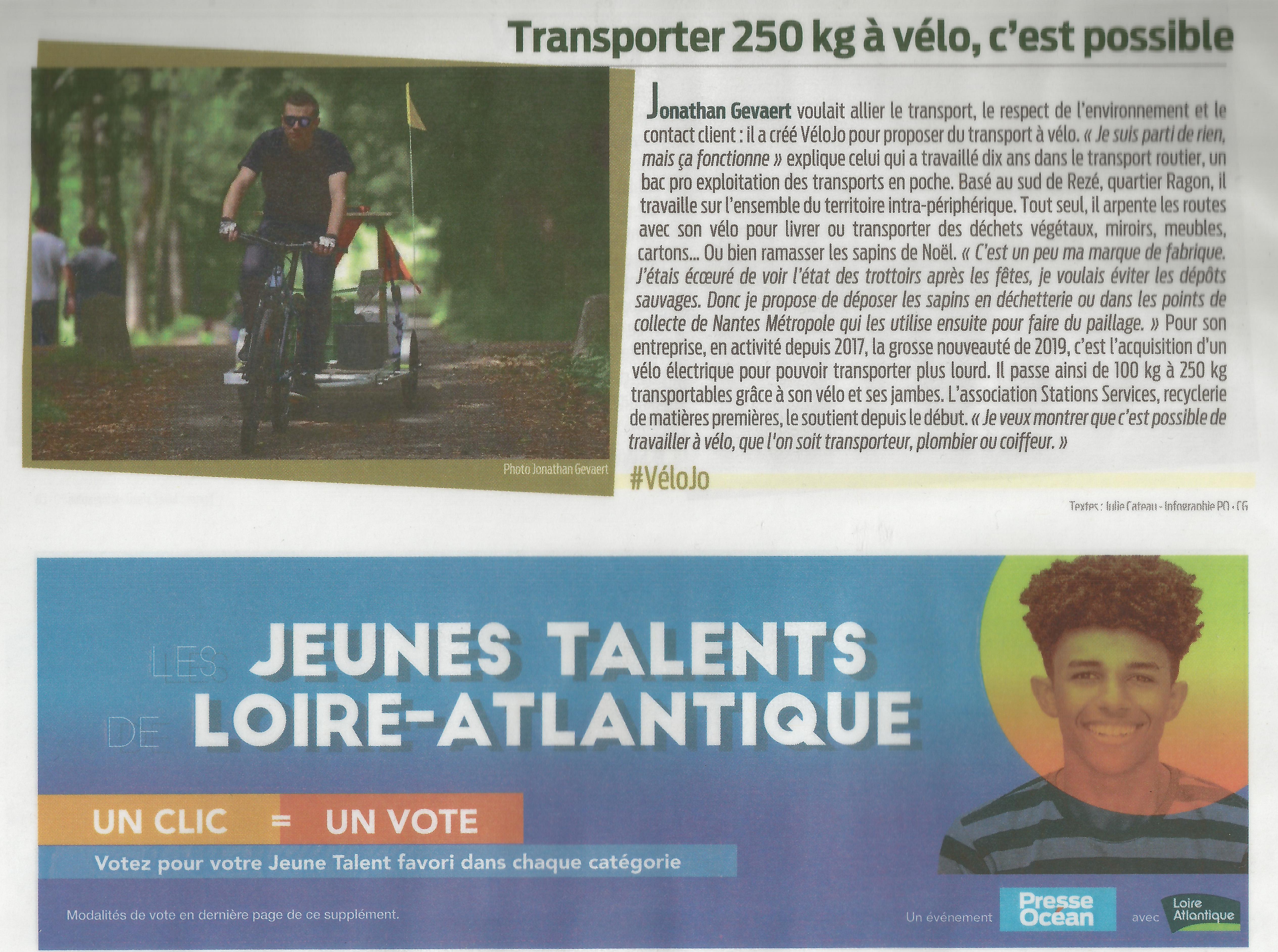 Article Presse Ocean Jeunes Talents