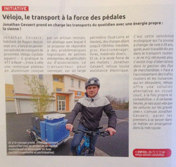 Vélojo Transport à Vélo de 0 à 100kg
