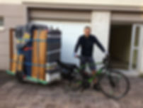Vélojo Transport à Vélo de 0 à 100kg Nantes & sa périphérie - encombrants, débarras, valorisation, colis, cartons, paniers bio, sapins, commandes alimentaires, drive, végétaux, matériaux, déménagement, remorquage Vélo, meubles - Rezé Les Sorinières Bouguenais - Ecologique, démarche RSE, respect de l'environnement