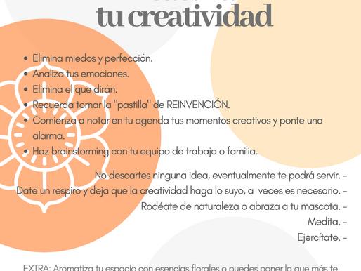Reactiva tu creatividad