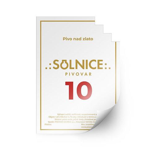 Etiketa Solnice 10