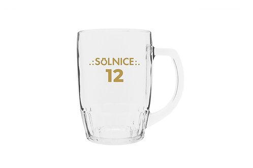 Sklenice 0,5l - SOLNICE 12