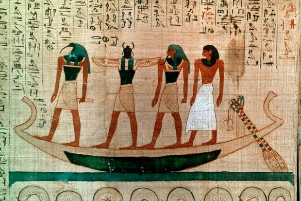 Ancient Egypt practicing the natural way of living.