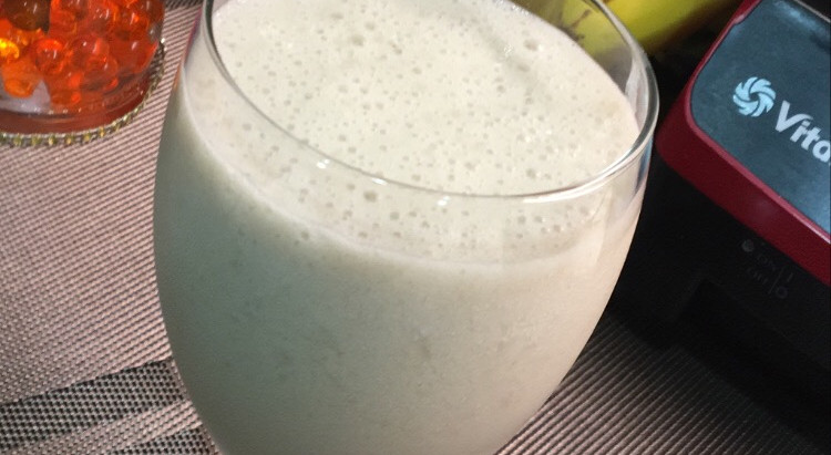 Potassium Enriched Almond Banana Smoothie Recipe