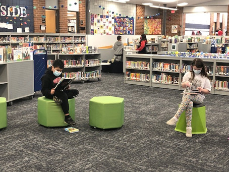 Quiet Reading is one of our favorite things!