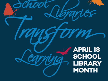 Happy National School Library Month!