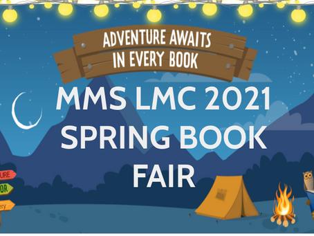 The MMS LMC Follet Book Fair is still open!