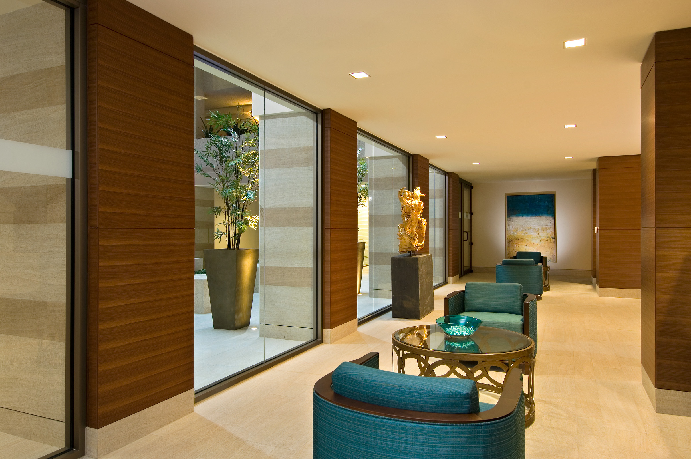 The Monaco Beach Club Lobby Renovation