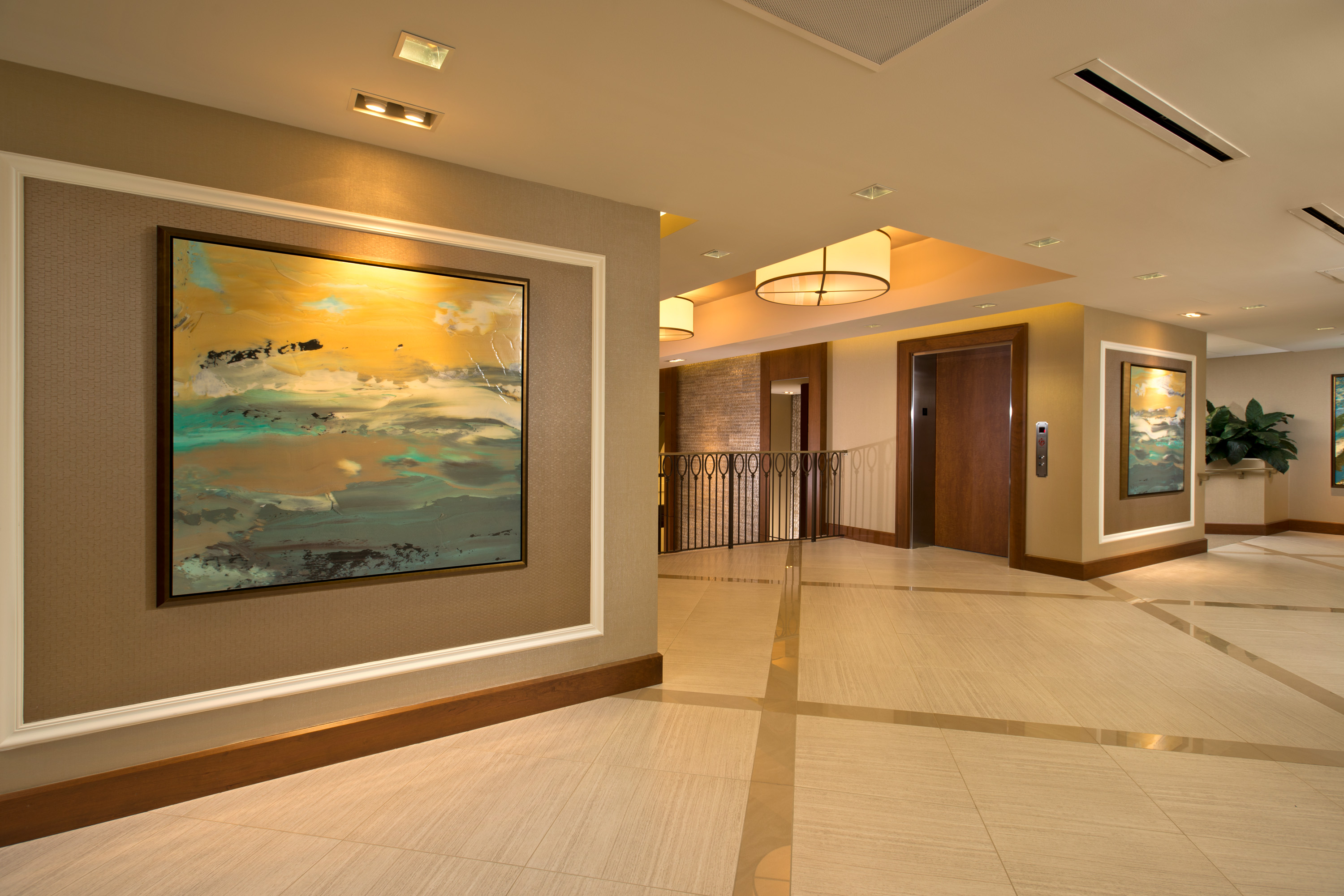 St. Kitts at Crown Colony Lobby Renovation