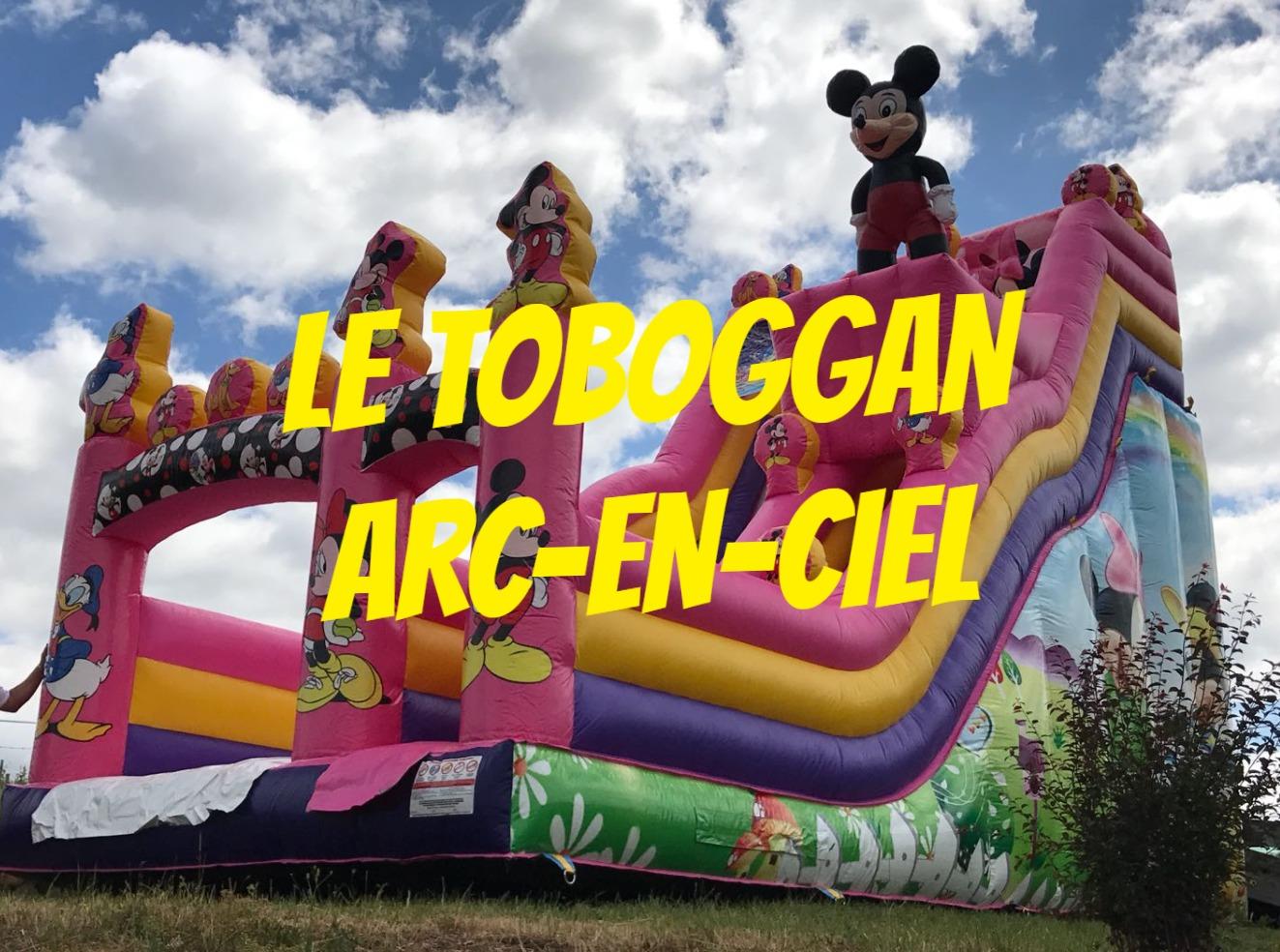 Le toboggan Arc-en-ciel