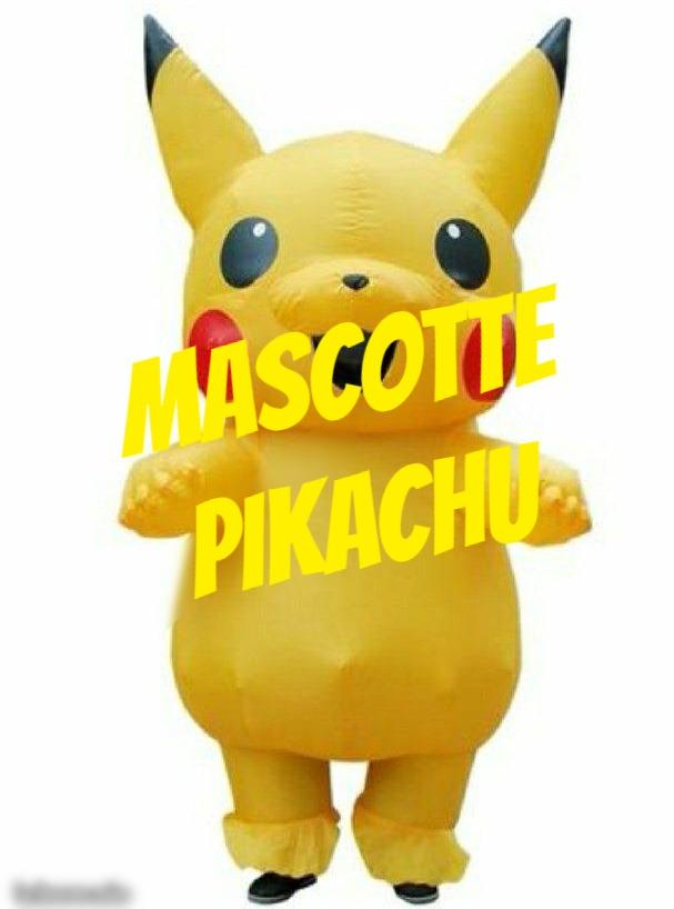 Mascotte de pikachu