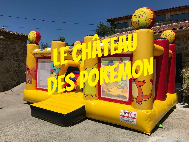 Le château des pokémon