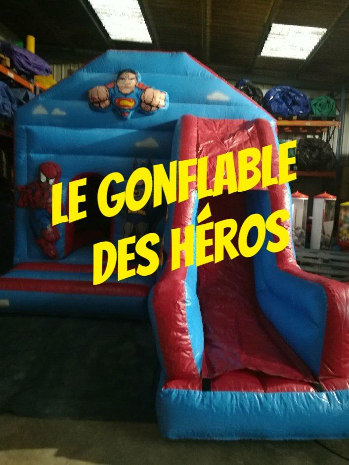 Le gonflable des héros