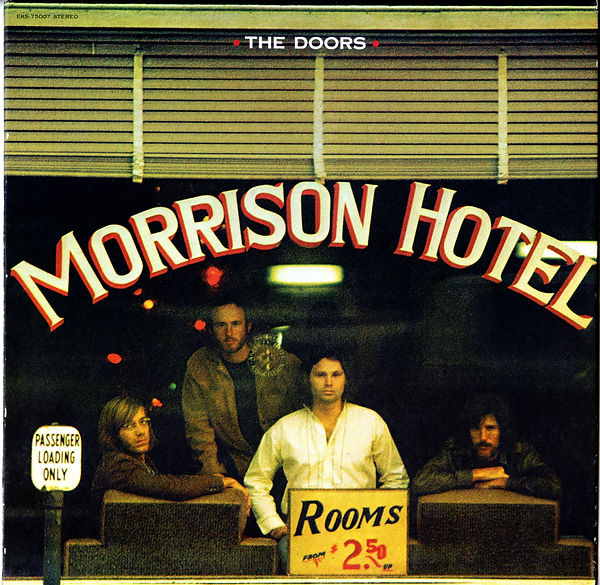 The Doors, Morrison Hotel album, Poster, The Accidental Photographer, Photographer, Henry Diltz