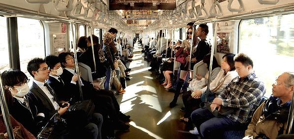 train, subway, Tokyo, Japan