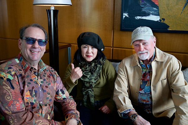 Jeffery Fosket, Mike Love, Beach Boys, Tokyo, Japan