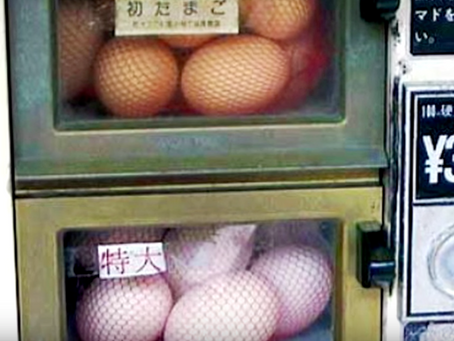 Raw eggs loved by the Japanese