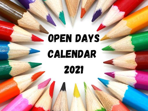 School Open Days 2021