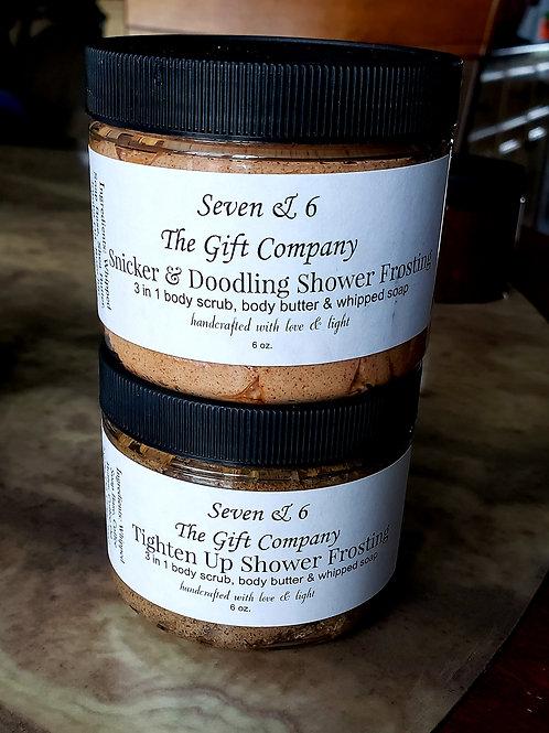 Snicker & Doodling Shower Frosting