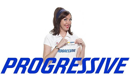 Flo from Progressive just being awesome