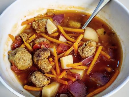 Potato, Tomato Goodness: Whole30 Soup