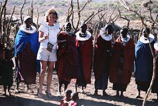 The Frightening Massai Warrior