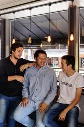 Bruno, Michael e Samuel