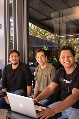 Bruno, Samuel e Michael