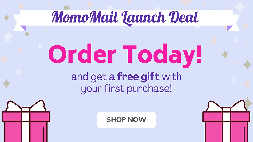 momomail launch deal special free gift japanese subscription box