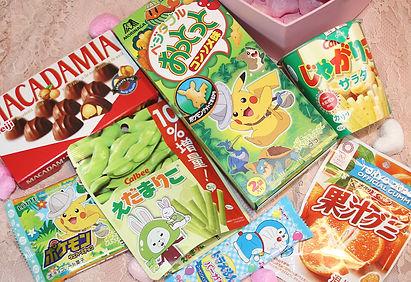 pokemon snacks japanese sweets candy doraemon box gift present tokyo