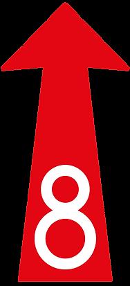 Freccia 8 delle langhe