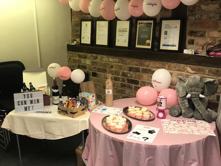 Jess raises money for Breast Cancer Awareness