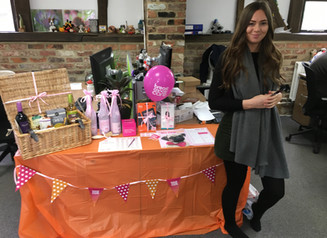 Charity Challenge Week at Codegate in aid of Breast Cancer Awareness month.