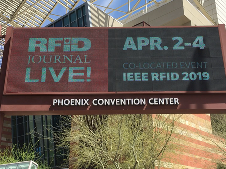 Codegate meet the world's most innovative RFID Manufacturers at RFID Journal Live 2019