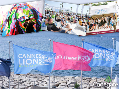 Innovation meets creativity - Codegate at Cannes Lions Festival 2017