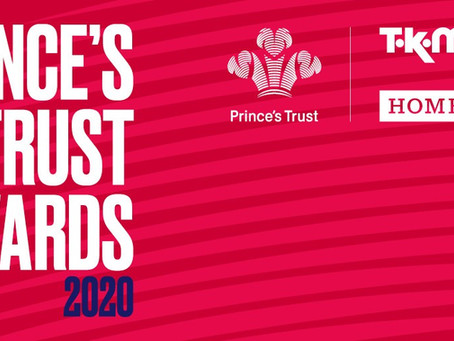 Codegate support the Prince's Trust and TK Maxx & Homesense Awards 2020.