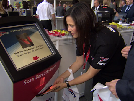 Could this be the end of self service badge printing at big events?