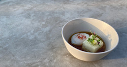 Vegetarian Agedashi Tofu