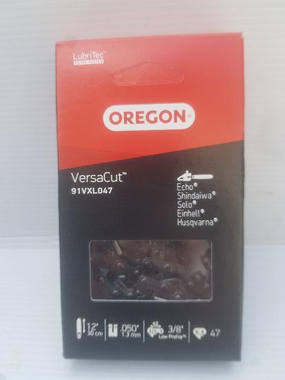 """Oregon VersaCut 91VXL047 chainsaw chain 3/8"""" LP 1.3mm 47 drive link"""