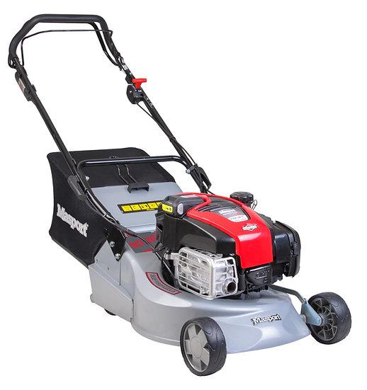 "Masport RRSP IS 18"" electric start self propelled petrol rotary mower 457954"