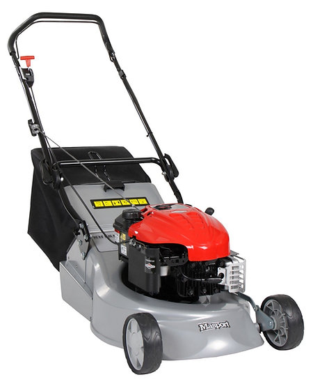 "Masport RR 18"" push petrol rotary lawn mower 457949"