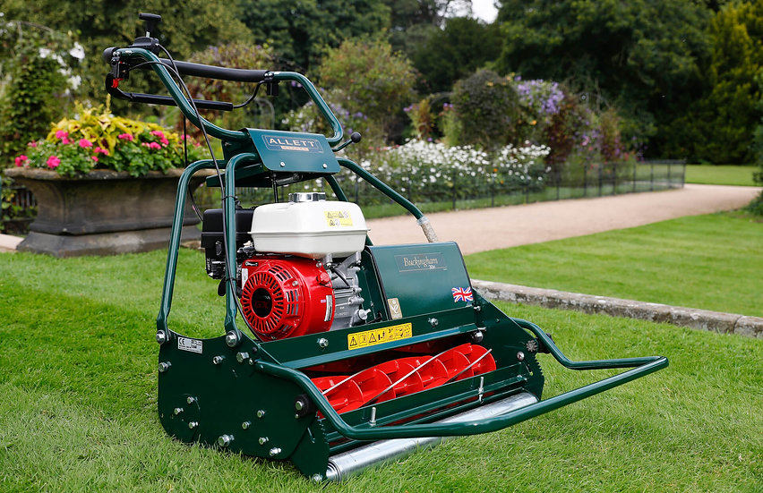 Allett Buckingham 30H Petrol Cylinder mower