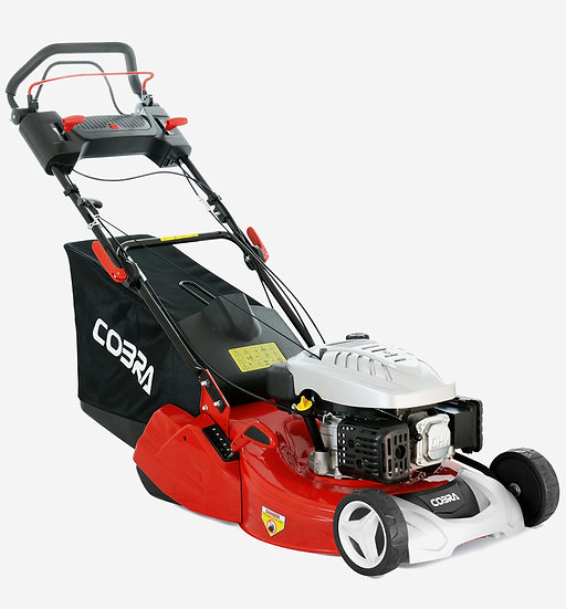 "RM514SPC 20"" Cobra self propelled petrol rear roller mower"