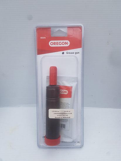 Oregon grease gun for chainsaw bar nose