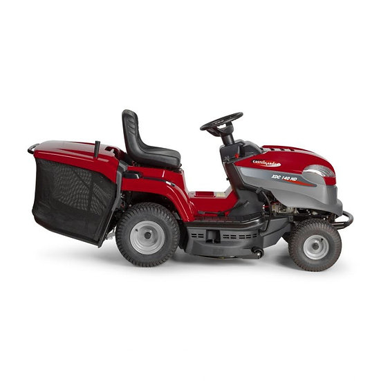"Castelgarden XDC140HD 84cm 33"" tractor mower"