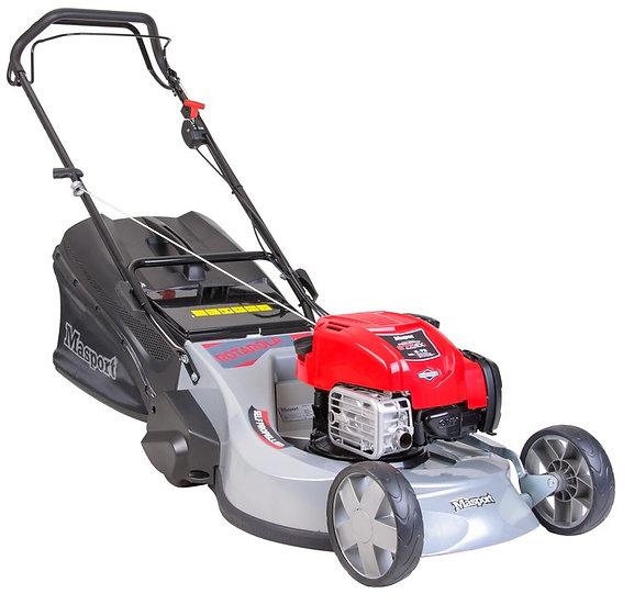 "Masport RRSP 22"" self propelled petrol rotary lawn mower 457951"