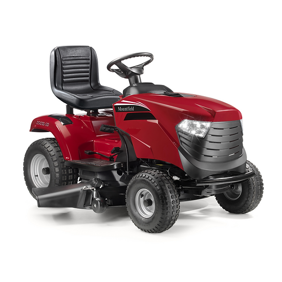 Mountfield 1543H-SD side discharge lawn tractor 42""