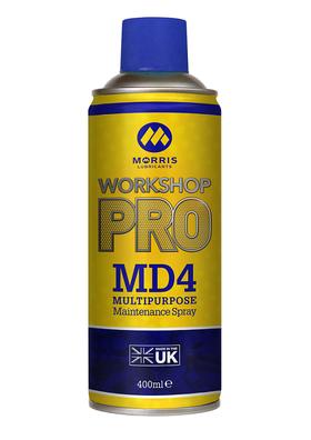Morris Workshop Pro MD4 maintenance spray